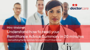 Mini-Webinar: Understand how to read your Remittance Advice Summary in 20 minutes