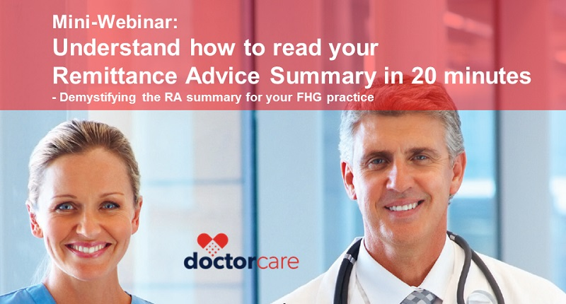 FHG Webinar-How to Read your RA