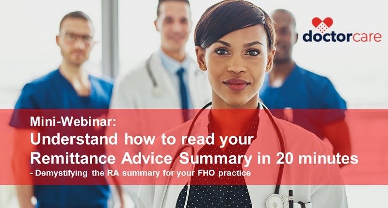 Webinar - Demystifying the RA summary for your FHO practice