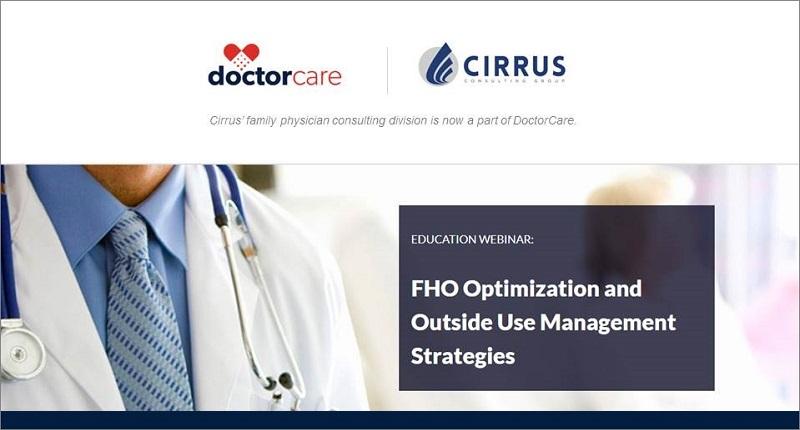 Webinar - FHO Optimization and Outside Use Management Strategies