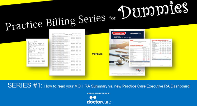 How to read your MOH RA Summary vs. new Executive RA Dashboard